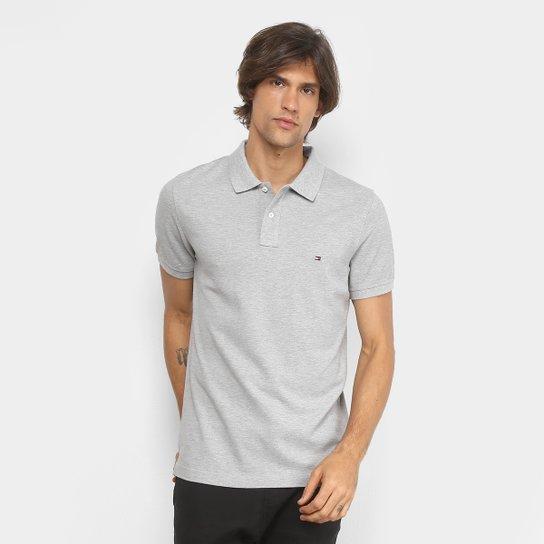 015a638415e Camisa Polo Tommy Hilfiger Slim Fit Clássica Masculina - Compre ...