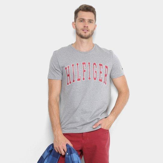 a0fb992ca0d77 Camiseta Tommy Hilfiger Estampada Masculina - Compre Agora   Zattini