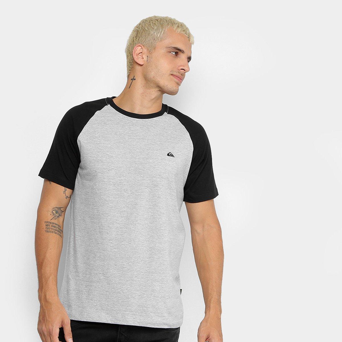 7569c9de8b6d7 Camiseta Quiksilver Especial Everyday Raglan Masculina