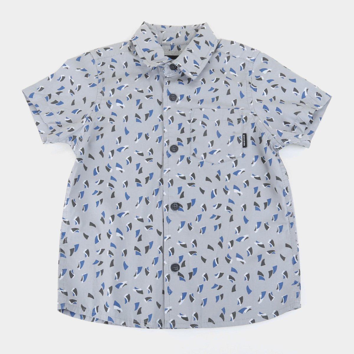 Camisa Infantil Quiksilver Akan Waters Masculina