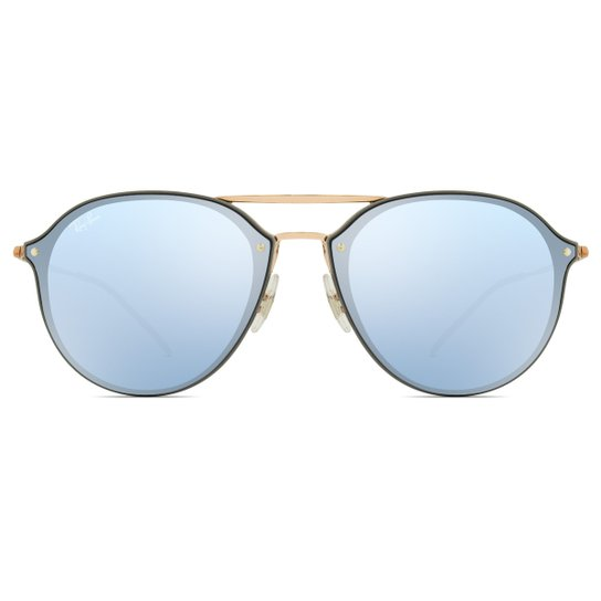 Óculos de Sol Ray Ban Blaze Double Bridge RB4292N 63261U-62 - Compre ... 52e17e87dc