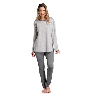 Pijama Longo Inspirate Matelassê Feminino 130decf6c52e9