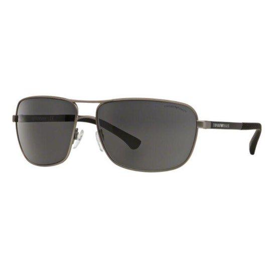 Óculos de Sol Emporio Armani Retangular EA2033 Feminino - Compre ... ed77bf485d