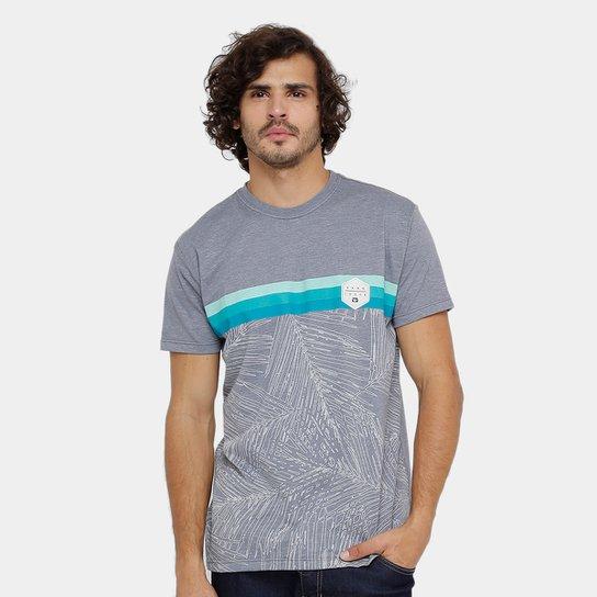 Camiseta Hang Loose Esp Palms Masculina - Cinza Claro - Compre Agora ... 1bc626066608a