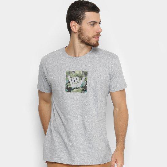 Camiseta Hang Loose Silk Logocamo Masculina - Cinza - Compre Agora ... dbdea040ba9f5