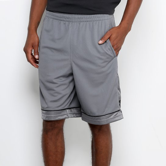Short Under Armour Baseline Basketball Masculina - Cinza - Compre ... edceee7edc727