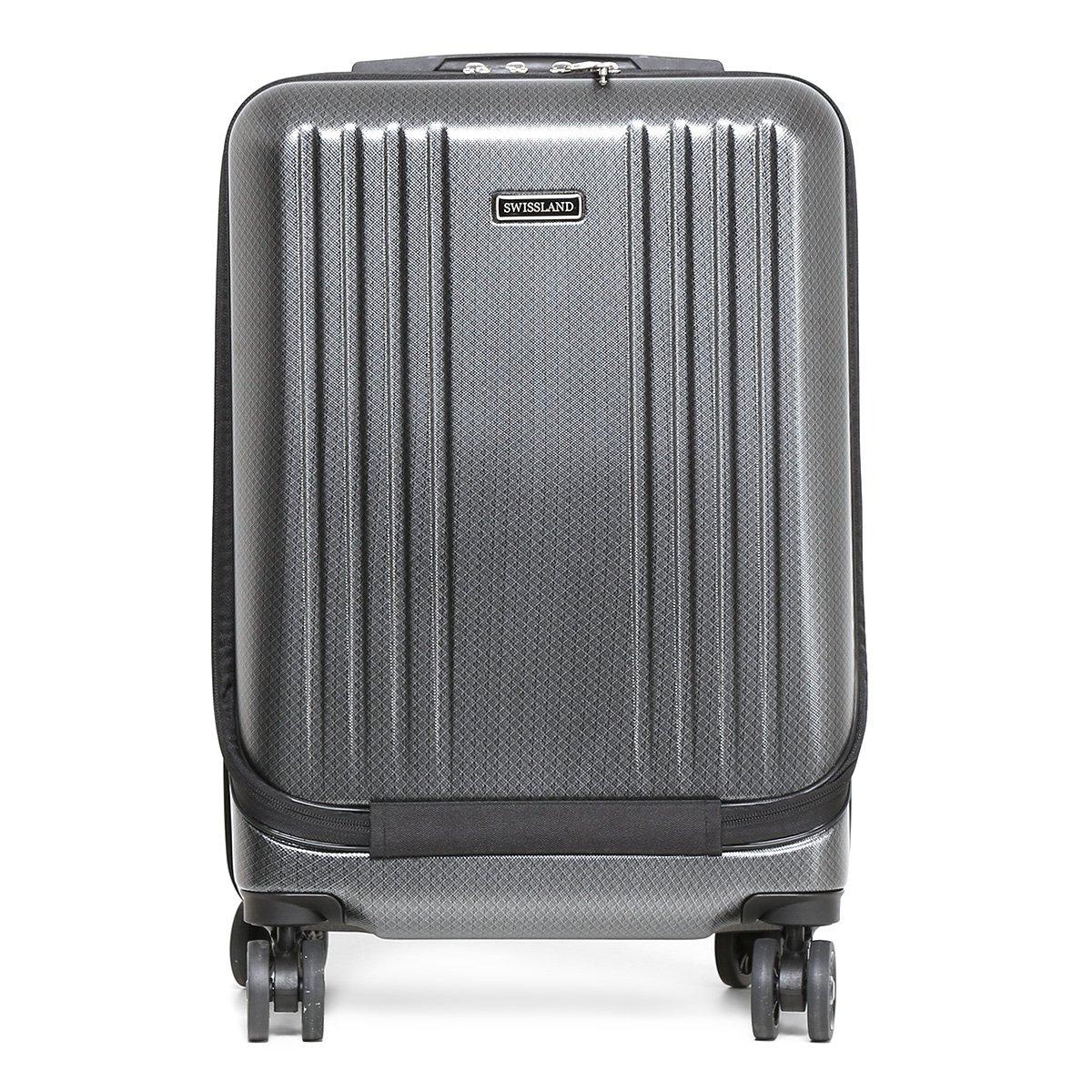 Mala de Viagem Yins brasil Bordo 20 ABS Compartimento Note