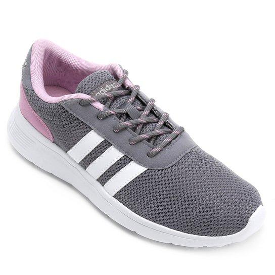 4c82b279d1c Tênis Adidas Lite Racer W Feminino - Cinza - Compre Agora