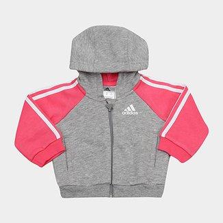 af1be522d6e Jaqueta Infantil Adidas Baby I Fav Log Fzh Feminina