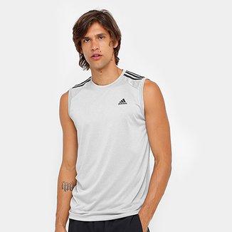 57503844e8 Camiseta Regata Adidas Ess 3S Egb Masculina