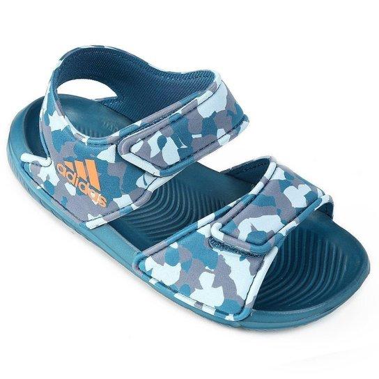 478bfe69f57 Sandália Infantil Adidas Altaswim - Azul - Compre Agora