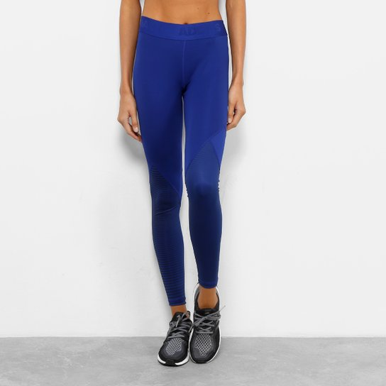 91a269ddd0a Calça Legging Adidas DNA Alphaskin Sport Feminina - Azul Royal ...