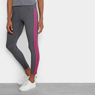 593363d20 Calça Legging Adidas Essential 3S Feminina