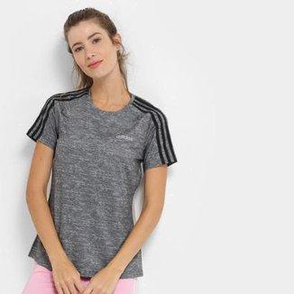dfd87823397 Camiseta Adidas D2M 3S Tee Feminina