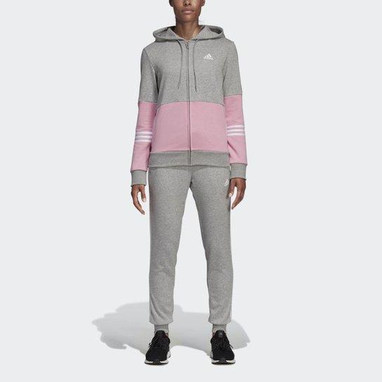 431b8963bd Agasalho Adidas Wts Co Energize Feminino - Cinza