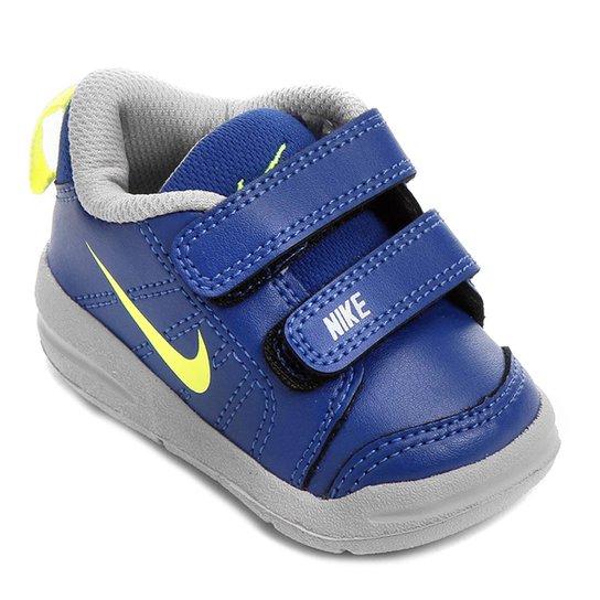 aa38a355d5f Tênis Infantil Nike Pico Lt Masculino - Azul e Gelo - Compre Agora ...