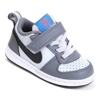 edd9b7768dd Tênis Infantil Nike Court Borough Low Masculino