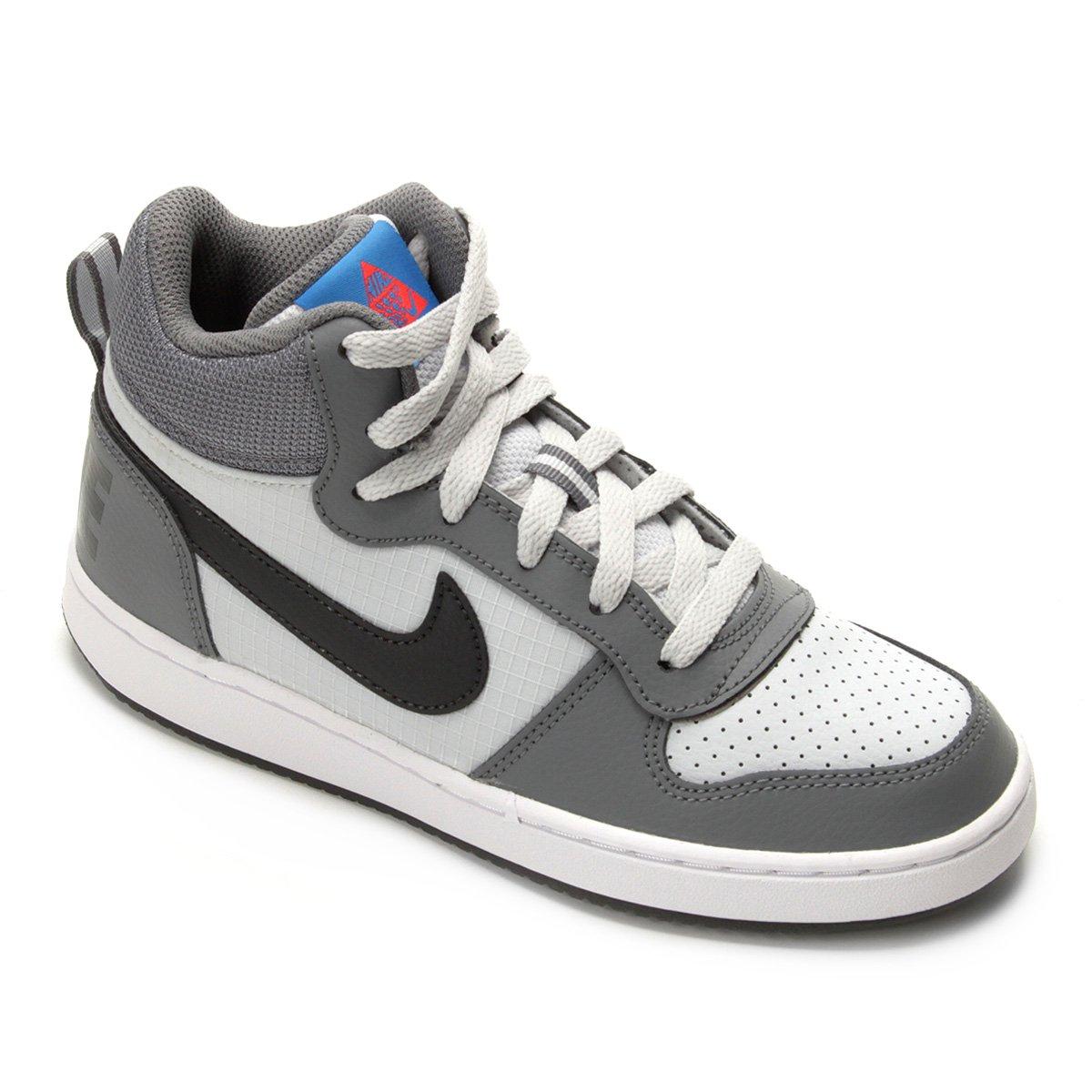 996ca2b063b Tênis Infantil Nike Court Borough Mid Masculino