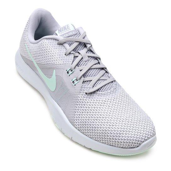 2341ac79b8e12 Tênis Nike Flex Trainer 8 Feminino - Cinza - Compre Agora
