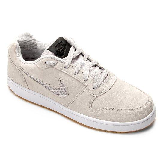 Tênis Nike Ebernon Low Prem Masculino - Cinza Claro - Compre Agora ... af917e607e136