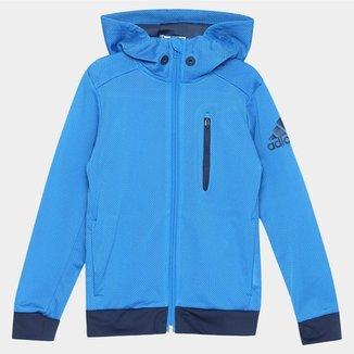 98a27a353ed Jaqueta Adidas Yb Gr Q Fz c  Capuz Infantil