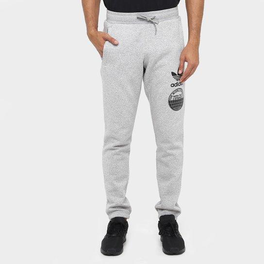 f57192286 Calça Moletom Adidas Street Graphic Sweat Masculina - Compre Agora ...
