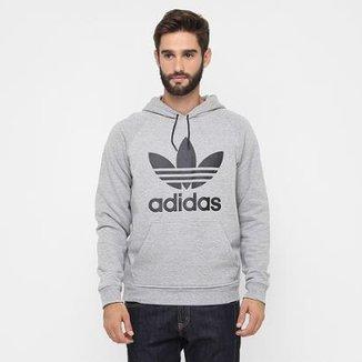 4ff00d0f2 Moletom Adidas Trefoil Hoody c/ Capuz