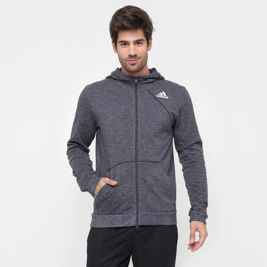 Jaqueta Adidas Cross Up c  Capuz - Compre Agora   Zattini 7969967e13