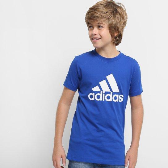 37198ad03b29b Camiseta Infantil Adidas Mc Yb Masculina - Compre Agora