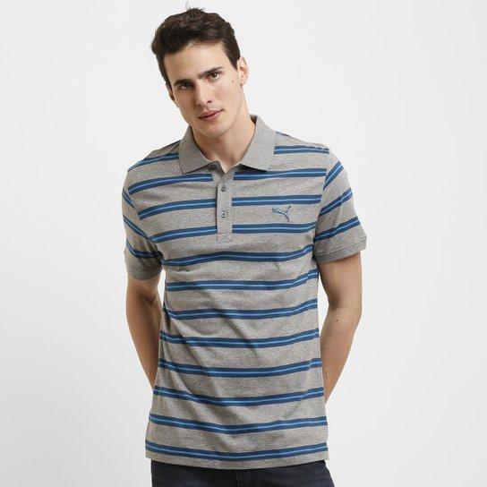 aa4ef89dc6 Camisa Polo Puma Fun Stripe Jersey - Compre Agora