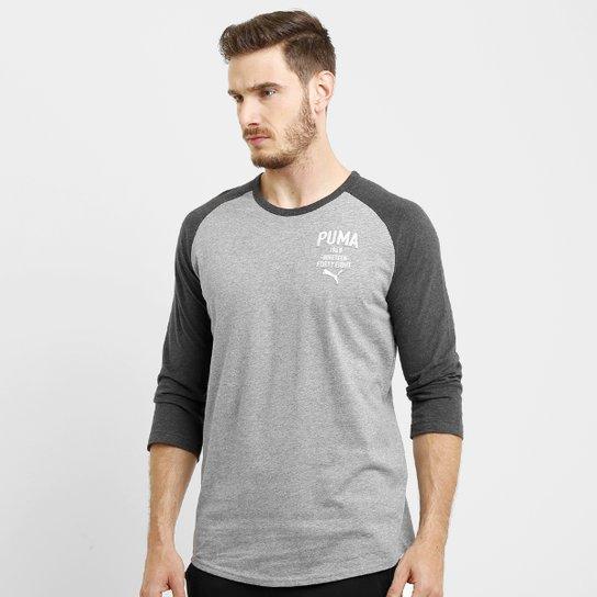 42a5ef03f9 Camiseta Puma Style Athl Baseball Tee 3 4 - Compre Agora