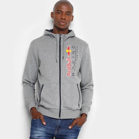 97432122ca4 Jaqueta Puma Red Bull Racing Sweat Masculina - Cinza - Compre Agora ...