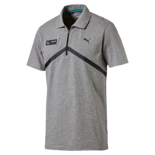 Camisa Polo Puma Mercedes AMG Petronas F1 - Cinza - Compre Agora ... 4006732fa17b2