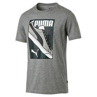 506f0034b6 Camiseta Puma Sneaker Masculina