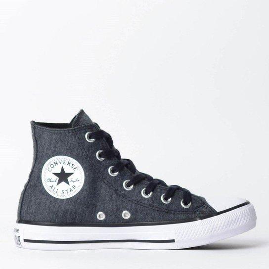 ee86b37e55 Tênis Converse Chuck Taylor All Star Hi Ferro CT0 - Compre Agora ...