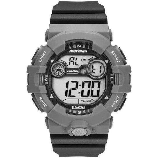 1ba876c958e Relógio Mormaii Digital Acqua - Cinza - Compre Agora