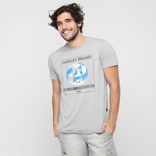Camiseta Oakley Mod Vcr Required Tee - Cinza - Compre Agora  f45faff079e