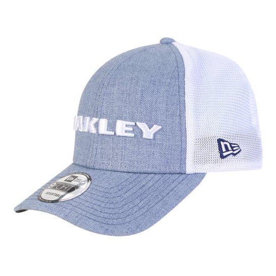 Boné Oakley Aba Curva Mod Heather New Era Masculino - Azul Royal ... 3915f10855