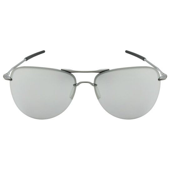 7da6c9e63c62e Óculos de Sol Oakley Tailpin OO4086 - Satin Black - Sapphire Iridium  Polarized - 08