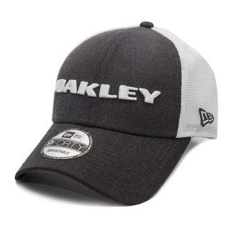 Boné Oakley Heather New Era Hat Graphite a0b3340614f