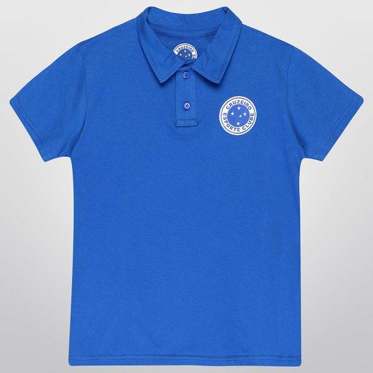 Camisa Polo Cruzeiro Maior Do Brasil Juvenil - Compre Agora  205d9c479adf1