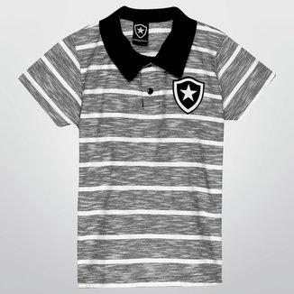 27100ce44c Camisa Polo Botafogo Botões Infantil