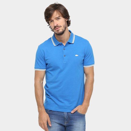 Camisa Polo Lacoste Piquet Slim Stretch - Compre Agora   Zattini 32ac2d6b97