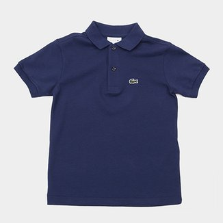 ccd96486c6 Camisa Polo Infantil Lacoste Masculina