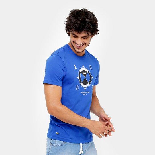 fcc4e6444ed Camiseta Lacoste Bússola Masculina - Compre Agora