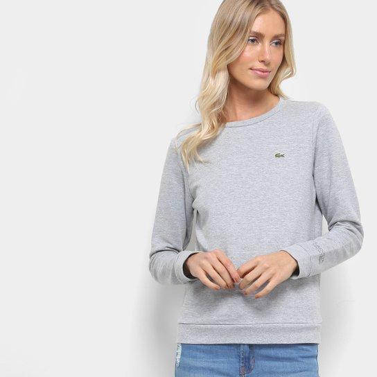 aa5e3649cd2ab Moletom Lacoste Básico Feminino - Compre Agora   Zattini