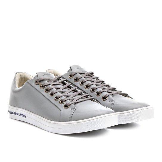 86d6d6a42f8e2 Sapatênis Couro Calvin Klein Logo Solado Masculino - Compre Agora ...