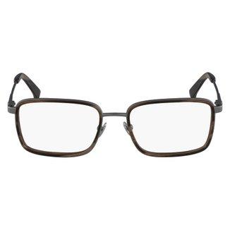 1b78b3a04e459 Armação Óculos de Grau Calvin Klein CK8059 015 54