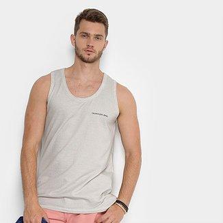 1f5af3e559a94 Regata Calvin Klein Estampa Logo Surton Masculina