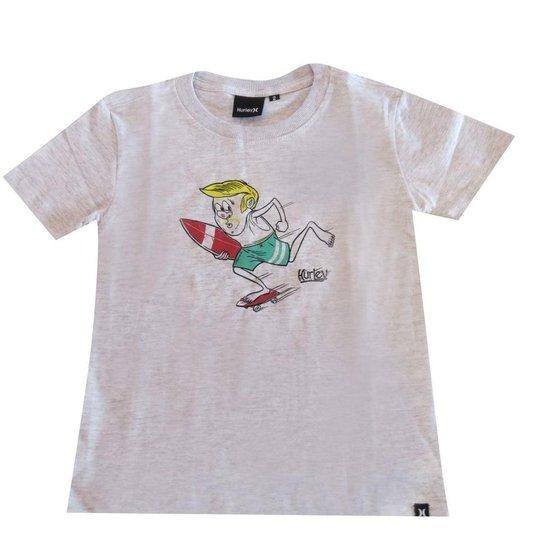 e5d043cde4a11 Camiseta Infantil Silk Surfs Up Hurley - Compre Agora